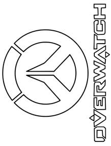 kids fun 30 coloring pages overwatch