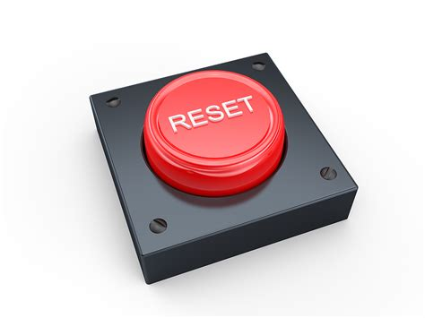 reset knopf it s time to hit the reset button coming out