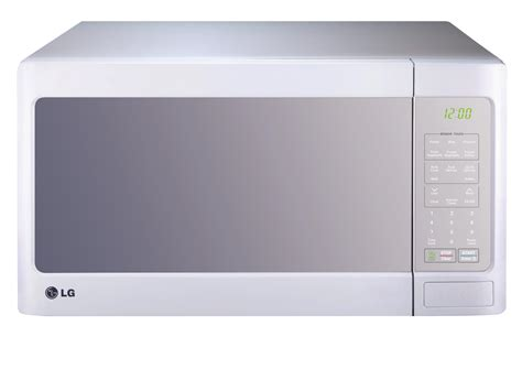 Best Small Countertop Microwave by Lg Lcs1413sw Countertop Microwave Oven With Easyclean 1 4 Cu Ft White Kitchen