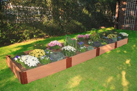 l shaped raised garden bed 4x16 raised garden bed frame it all one inch series 12ft x 12ft x 11in