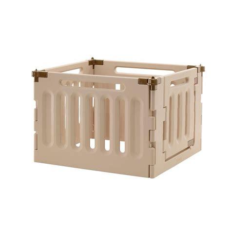 outdoor playpen richell low 4 panel plastic convertible indoor outdoor pet playpen 94905 the home depot