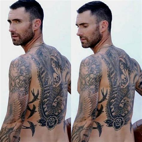 maroon 5 tattoo pin by mclaughlin on adam levine adam