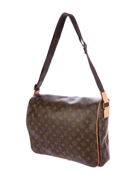 louis vuitton monogram abesses messenger bag handbags