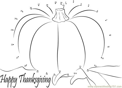 printable dot to dot thanksgiving events happy thanksgiving day dot to dot printable