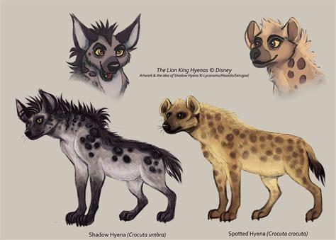 hyena vs shadow hyena vs spotted hyena by serulfen on deviantart
