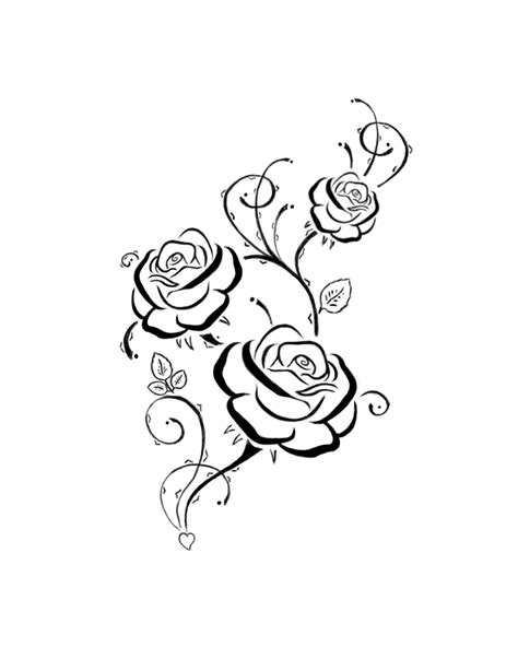 rose tattoo final edition by arlen mctaranis on deviantart