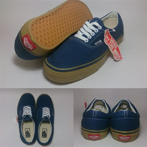 Sepatu Vans Era California Navy vans era navy gum shoes shop id