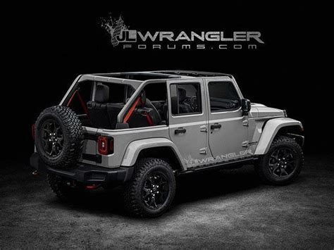 2018 Jeep Wrangler Will Likely Come With The Renegade?s