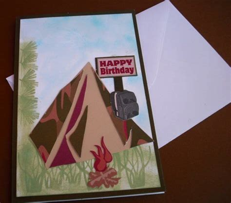 images  camping cards  pinterest fathers