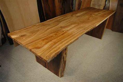 elm wood table custom dining tables handmade rustic slab dining tables