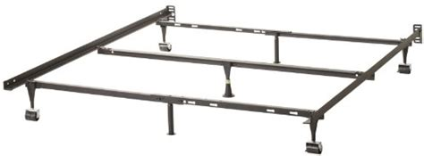 malouf structures heavy duty 7 leg linenspa adjustable metal bed frame gliders ebay