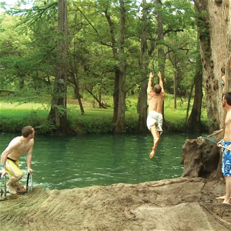 river swing guadalupe river rope swing 41984 notefolio