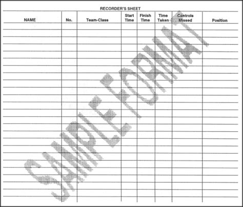 orienteering card template fm3 25 26 appendix f orienteering