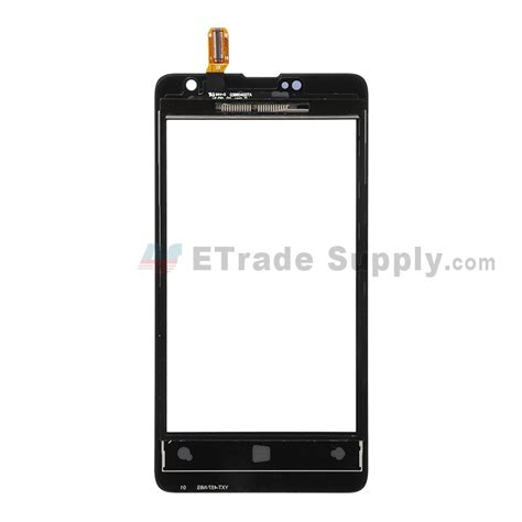 Touchscreen Nokia Lumia 430 0riginal microsoft lumia 430 dual sim digitizer touch screen black etrade supply