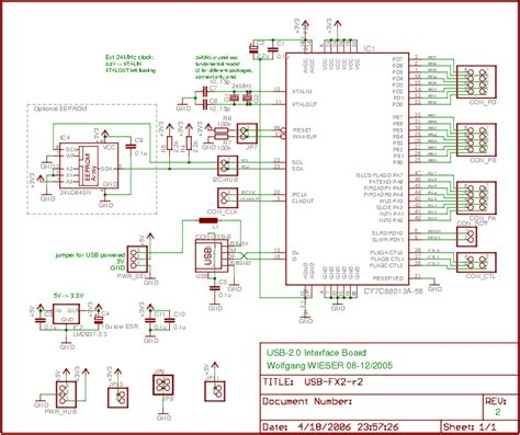 usb 2 0 wiring diagram schematic wiring diagram usb fx2 usb 2 0 interface board circuit schematic