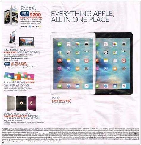 Cyber Monday Gift Card Deals 2015 - the best cyber monday 2015 ipad deals