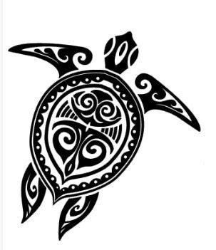 vanuatu tribal tattoos tribal sea turtle design hawaiian tattoos