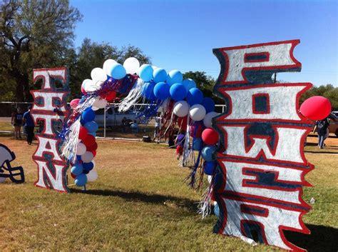 peewee football homecoming decorations ideas