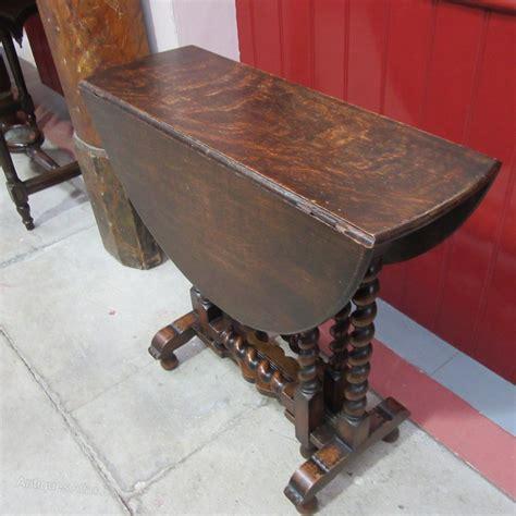 antique table ls 1930 antique oak 1930s barley twist gateleg table antiques atlas