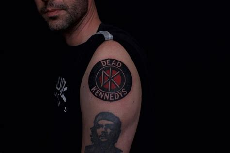 kennedy tattoo dead kennedys by ben licata tattoonow