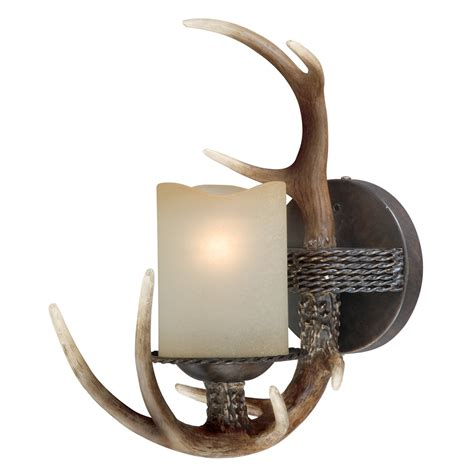 Antler Wall Sconce Deer Antler Ls Antler Single Wall L Black Forest Decor