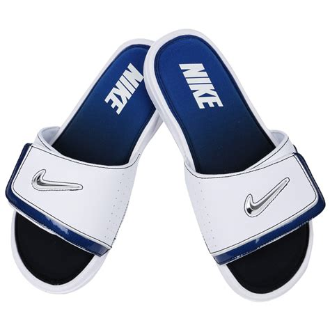 nike comfort slide 2 white and blue wheelies large av media cart with locking doors and 2