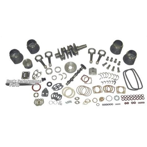 cc engine kit mm counter weighted crank  mm forged piston engine rebuild kits