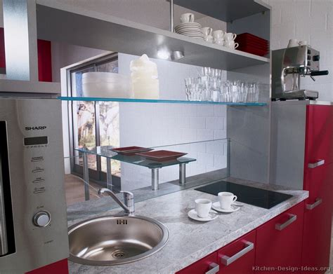 Glass Shelves Kitchen Cabinets Pictures Of Kitchens Modern Two Tone Kitchen Cabinets Kitchen 165