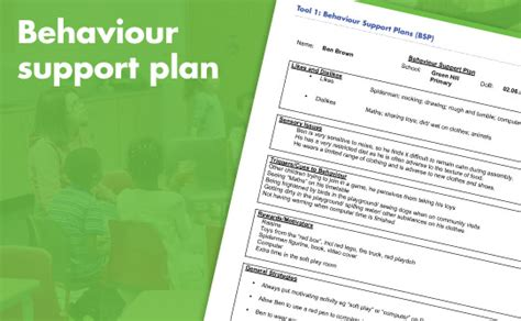 it support plan exle