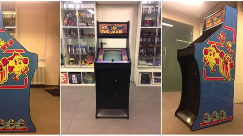 ms pacman arcade cabinet custom made ms pacman arcade cabinet
