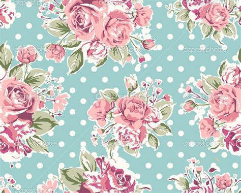 Wallpaper Green Pink Floral | green floral wallpaper on wallpaper seamless vintage pink