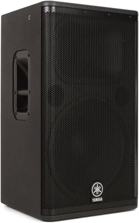 Speaker Yamaha Dsr 115 yamaha dsr115 1300w 15 quot powered speaker sweetwater
