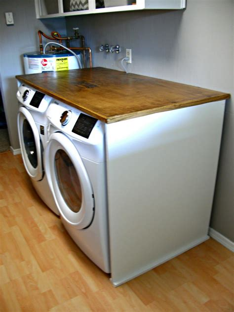 build a folding table laundry room redo diy laundry folding table laundry