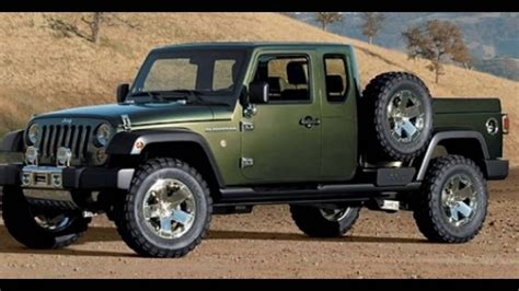 new jeep truck concept new jeep pickup new release autos post