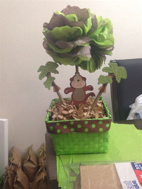 Monkey Themed Baby Shower Centerpieces by Best 25 Monkey Centerpiece Ideas On Monkey