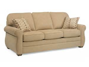 flexsteel 5643 31 fabric sofa without nailhead trim