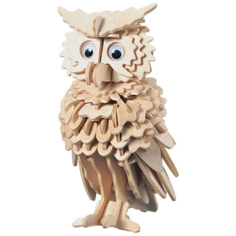 Home Decor Owls by 3d Wooden Owl Puzzle Hobbycraft
