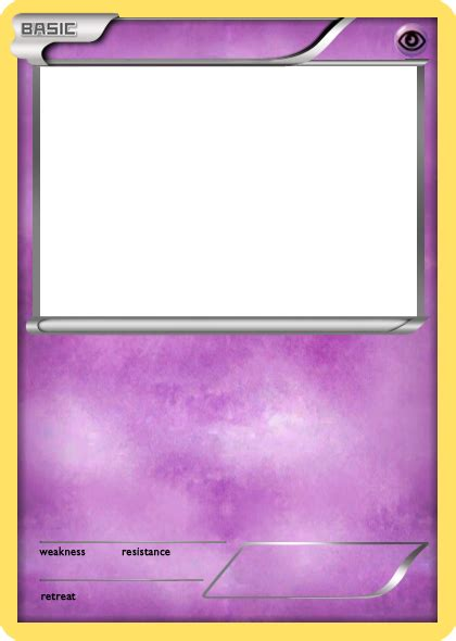 pokemon basic card template images pokemon images