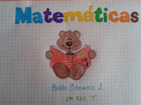 imagenes de matematicas caratulas caratulas de matematicas buscar con google cartulas