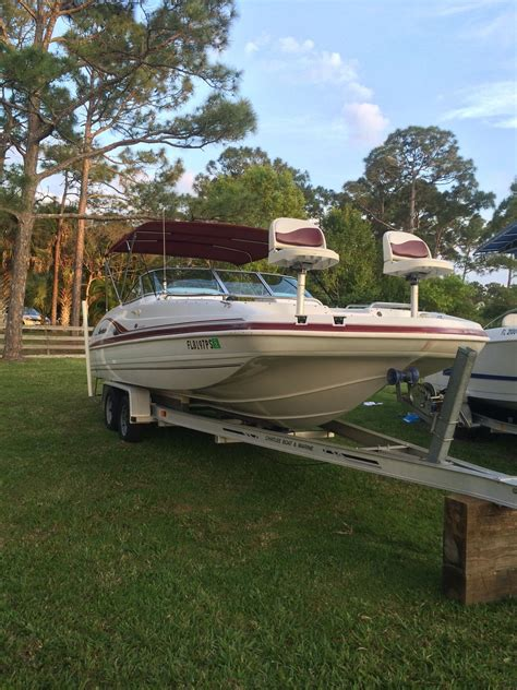 used hurricane deck boats in nc hurricane 237 sundeck 2002 for sale for 14 500 boats