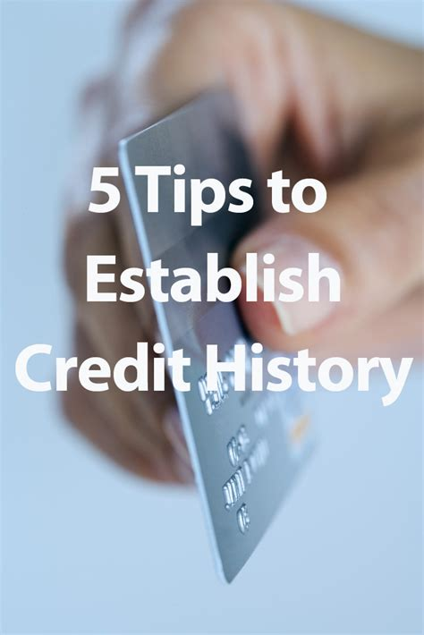 5 tips for establishing credit