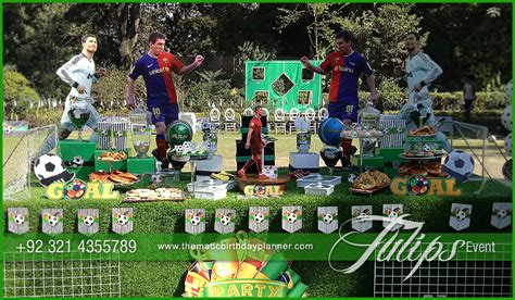 soccer theme decorations soccer themed birthday planning tips in lahore