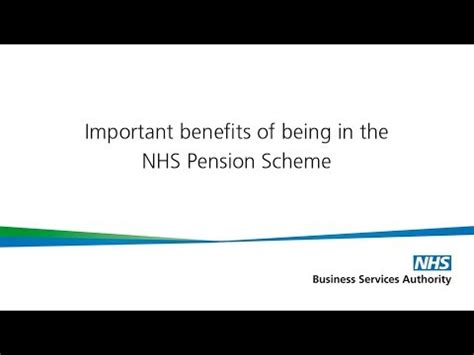 9 Advantages Of Being by Important Benefits Of Being In The Nhs Pension Scheme