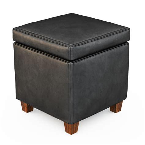 Black Cube Ottoman Cubes Ottoman Black Max Free