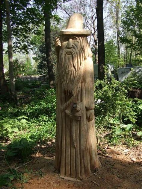 woodworking lansing mi wizard tree carving stump carving in lansing michigan
