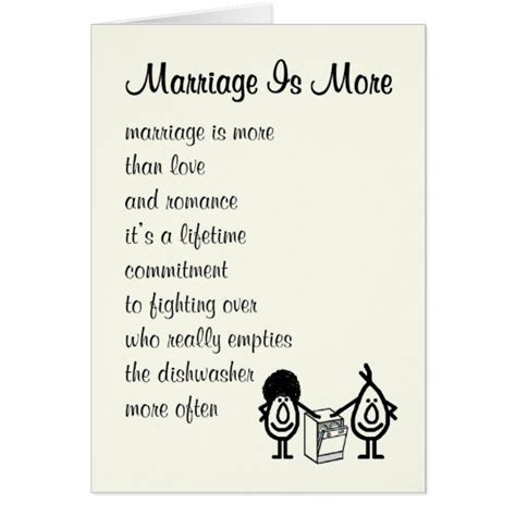 Wedding Congratulation Poems by Marriage Is More A Congratulations Poem Card
