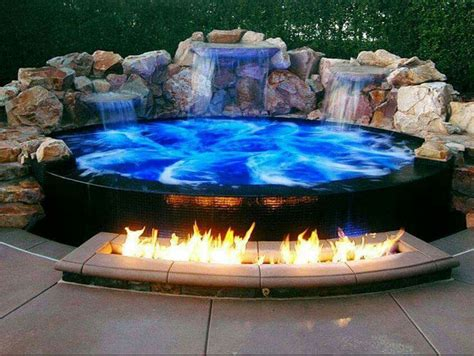 backyard hot tub 25 best ideas about hot tubs on pinterest hot tub patio hot tub deck and jacuzzi