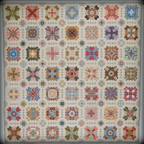 Patchwork Of The Crosses Pattern - every stitch boston finished