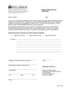 clearance for surgery template clearance form templates fillable printable