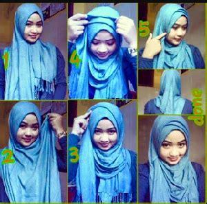 tutorial hijab pashmina kaos simple til anggun dalam berbagai 15 tutorial hijab untuk pipi tembem terbaru dan simple